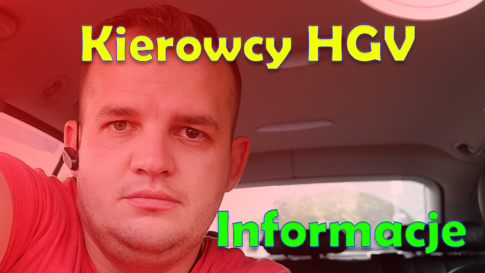 Kierowcy HGV - Ogloszenia duszpasterskie